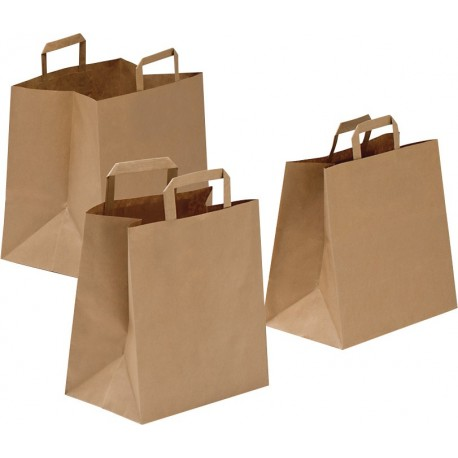Borsa KRAFT AVANA TAKE AWAY manico piatto