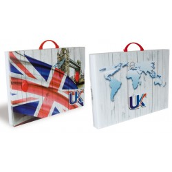 Valigetta POLIONDA FLAG USA - UK