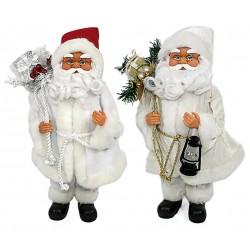Babbo Natale Bianco Pelliccia