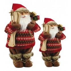 Babbo Natale Rosso/Marrone