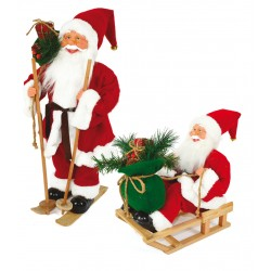 Babbo Natale Panno Rosso