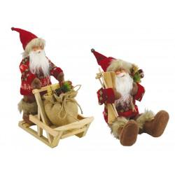 Babbo Natale Seduto/Su Slitta